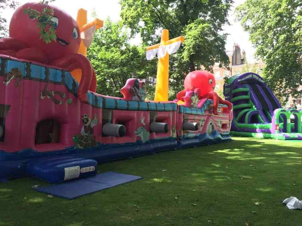 Multi Activity Inflatables